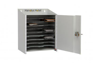 Handys Hotel Für 20 Handys Aus Stahl Mit Einer Tür